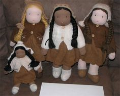 Waldorf Dolls for The Q'ewar Project!  Amazing detailed work being done - a labor of love!