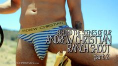 Andrew Christian  Jockstrap Cowboys by Andrew Christian: Behind The Scenes, Part 2