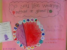 mitten or gloves pie graph