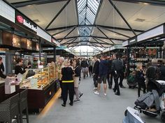 Torvehallerne, Copenhagen, Large Indoor Food Market