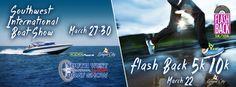 Southwest International Boat Show and Flashback 5K Fun Run Graphic