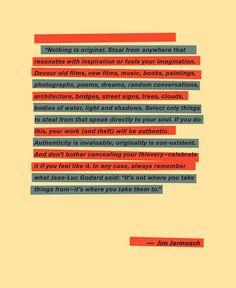 Nothing is Original – Jim Jarmusch