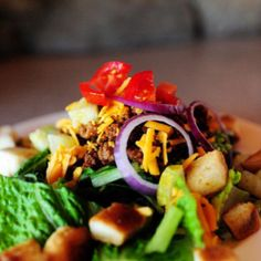 Pioneer Woman's Cheeseburger Salad cheeseburg salad, salad sensat