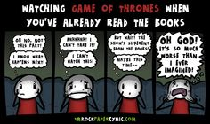 Watching Game of Thrones When You've Already Read the Books - Rock, Paper, Cynic