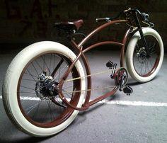 This may be the coolest bicycle I've ever seen. - Basman Cappuccino Racer
