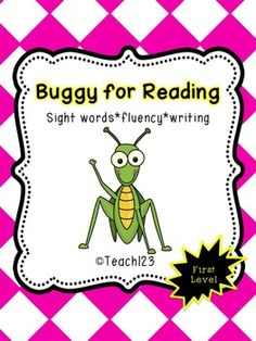 Sight words and fluency activities - First Level - Aligned with Common Core $