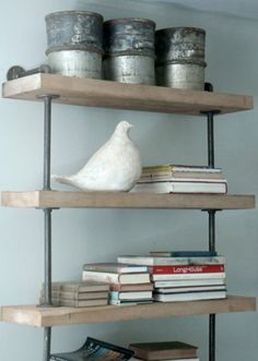 Reclaimed Open Shelving Unit