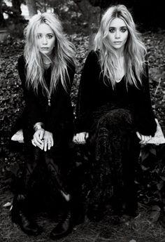 monochromatic Olsen Twins