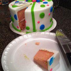 Baby reveal cake!