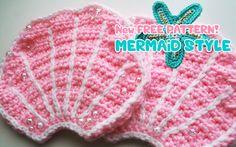 Mermaid Bra crochet