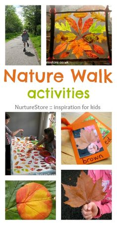Great ideas for nature walk activities | NurtureStore :: creative kids learning