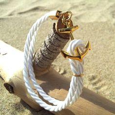cord bracelet, anchor rope bracelet, anchor bracelet, ancor bracelet, anchor cord