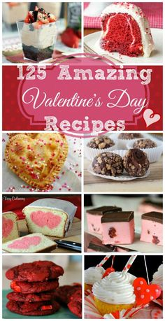 Over 125 Valentine's Day Recipes  | beyondfrosting.com