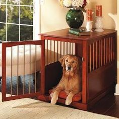 I want an incognito dog crate.