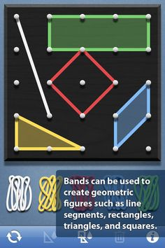 Geoboard Math App for all grade levels *free*