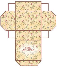 Caja hecha por mi, regalo de Navidad para vosotros...  Box make for my, gift of Christmas for all my friends