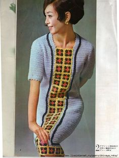 Some adorable older style crochet fashions from Japan. Circa late 60's to early 70's I think.