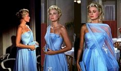 To Catch a Thief: Costume Design by Edith Head in Grace Kelly's final film for Hitchcock opposite Cary Grant
