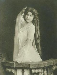 """Geraldine Farrar, born in 1882, was an American soprano noted for her beauty, acting ability, and """"the intimate timbre of her voice.."""