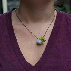 planter white, inspiration, green, colors, flower fashion, necklac, gardens, flowers, wearabl planter