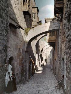 www.ffhl.org #ffhl #holyland The Ecce Homo Arch in the Via Dolorosa, Jerusalem