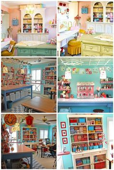 all kinds of homeschool room ideas