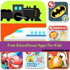Free Educational Apps for Kids: Fisher-Price, Fourth Grade Learning, Happy Trains, + more!