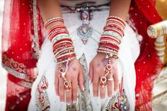 Indian Wedding Along The Shores Of Clearwater Florida In Bold Red & Bright Metallics | Photograph by Limelight Photography  http://www.storyboardwedding.com/buddhist-hindu-wedding-red-metallic-clearwater-florida/