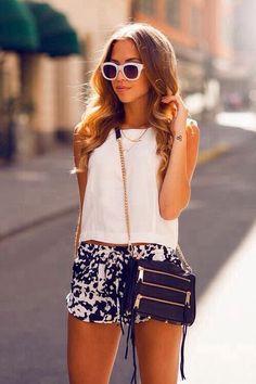 Rebecca Minkoff mini 5-zip short, woman fashion, summer looks, summer fashions, rebecca minkoff, street styles, summer outfits, summer clothes, fashion handbags