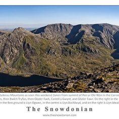 The Glyderau mountains, Snowdonia