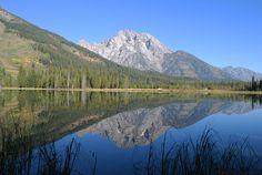 String Lake and Mount Moran: Take an eHike!