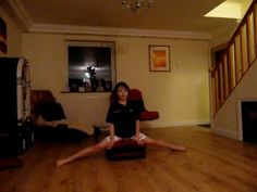 learn how to do the splits (box splits)