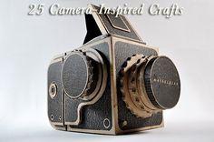 25 camera-inspired crafts  #crafts #camera #cameracrafts