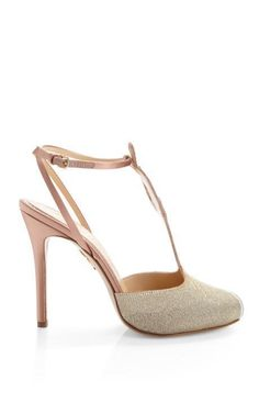 Mae West T-Bar Sandal by Charlotte Olympia Now Available on Moda Operandi