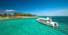 Transportation to the Offshore Island at Sandals Royal Bahamian in Nassau, Bahamas