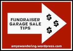 Fundraiser Garage Sale Tips