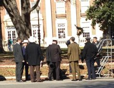 #PARKLAND set picture in Austin, Texas ~ January 16, 2013