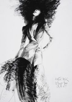 Drawing by Joop, charcoal.