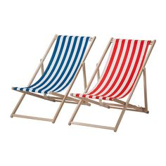 IKEA - MYSINGSÖ, Beach chair, , Easy to keep clean as the fabric can be removed and washed.