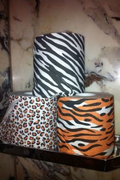 Animal print toilet paper. Will be wiping in style;)