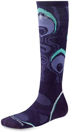SmartWool PhD Snowboard Socks in Arctic Blue from Simplypiste.com