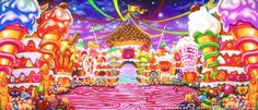 Backdrop CH019-S-DP Candyland 2