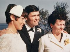 Jacque Pepin with wife and mother.