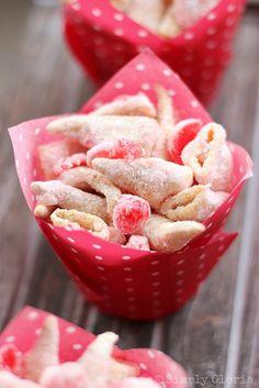 White Chocolate Maraschino Cherry Bugles