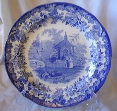 Blue and White Spode dishes