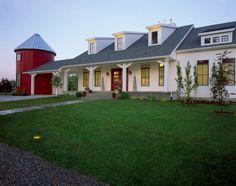 Farmhouse Exterior by Hyrum McKay Bates Design, Inc.