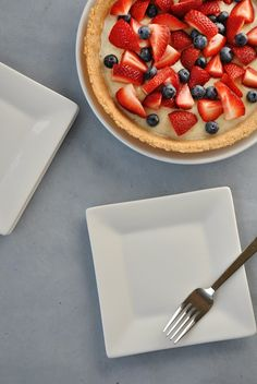 Fruit + Cream Pie