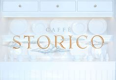 de Vicq Design: Caffe Storico Identity and Collateral