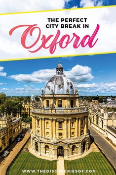 Oxford city break |
