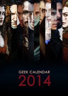 BuzzFeed: The Gorgeous 2014 Calendar That Every Nerd Needs In Their Life